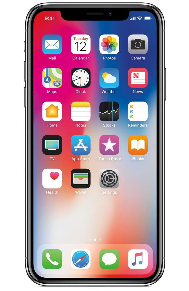 """The ugly """"notch"""" is expected to remain for the iPhone X models."""