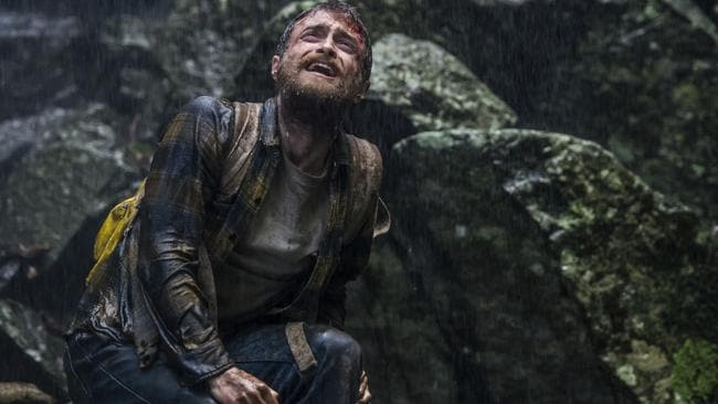 Daniel Radcliffe as Yossi Ghinsberg in the thriller Jungle. Picture: Momentum Pictures