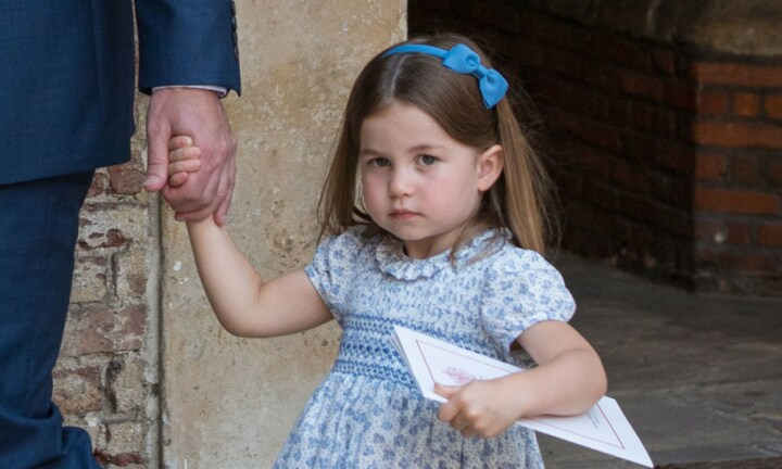 Princess Charlotte bears a striking resemblance to a young Princess Diana