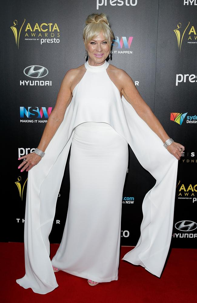 Kerri-Anne Kennerley arrives ahead of the 5th AACTA Awards Presented by Presto at The Star on December 9, 2015 in Sydney, Australia. Picture: Getty