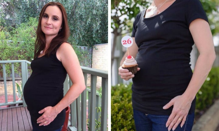 'We didn't know how long we had, so we celebrated every week of pregnancy'