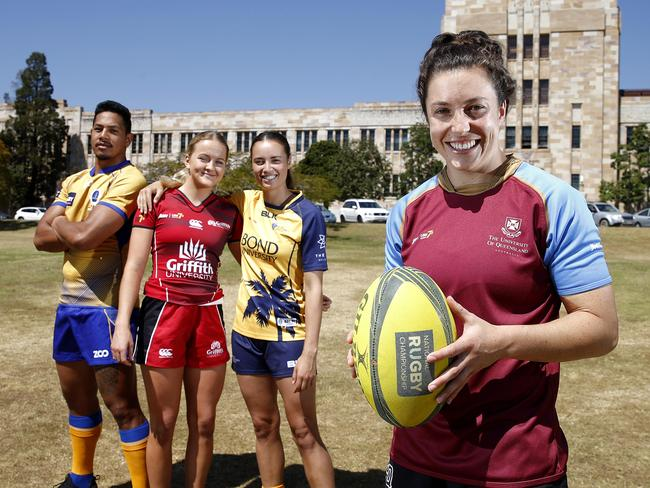 Emilee Cherry ahead of the Aon Uni Sevens Brisbane leg.