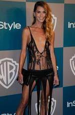 Model Erin Wasson arrives at 13th Annual Warner Bros. And InStyle Golden Globe Awards After Party at The Beverly Hilton hotel on January 15, 2012 in Beverly Hills, California. Picture: Kevork Djansezian/Getty Images
