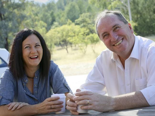 Deputy Prime Minister Barnaby Joyce has told Parliament he and wife Natalie have separated.