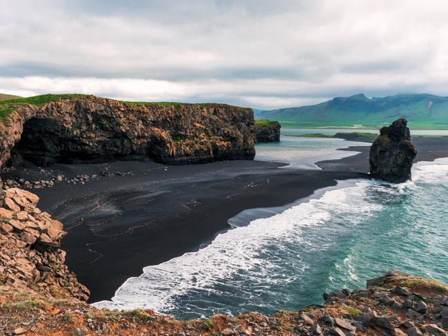 ESCAPE: GAME OF THRONES - Amazing summer day on Black beach, Reynisdrangar, Vik, Iceland, Europe. Picture: Istock