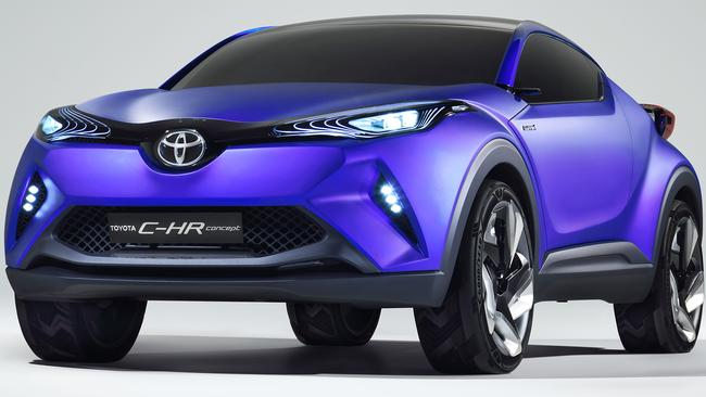 Toyota will unveil a city-centric SUV inside enemy territory at this week's Paris motor show. Picture: Supplied.