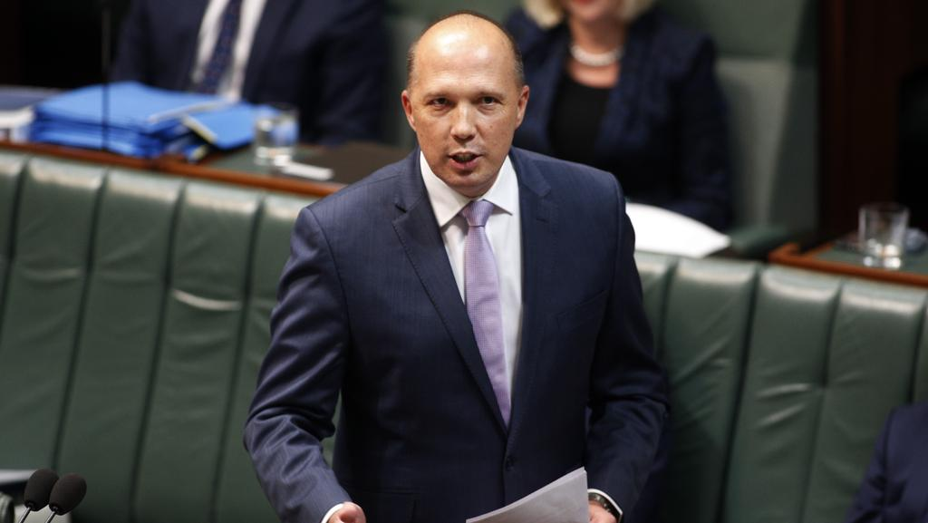 Immigration Minister Peter Dutton's attempts to deport the Iranians have been foiled by the AAT. Picture: Gary Ramag