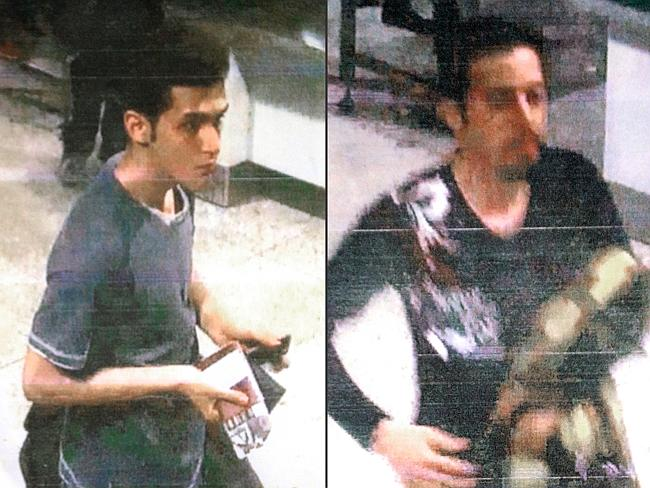Missing ... Pouria Nour Mohammad Mehrdad (left) and Delavar Seyedmohammaderza were using stolen passports.