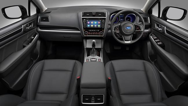 Outback cabin: Larger infotainment screen.