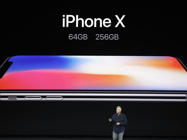 The response to the iPhone X has been mixed. Picture: AP