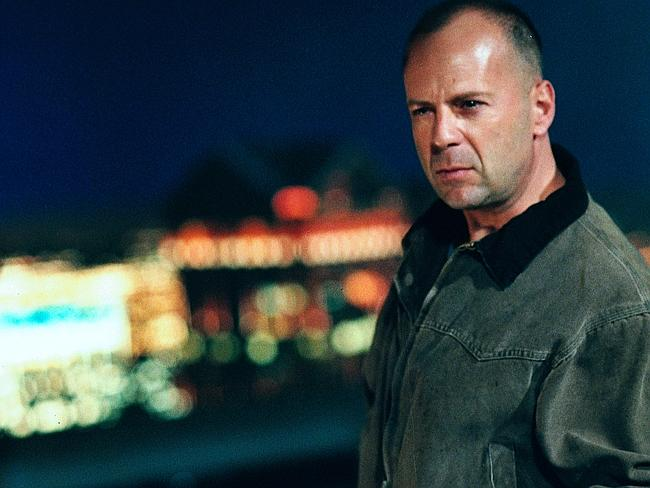 Bruce Willis pictured in Mercury Rising.