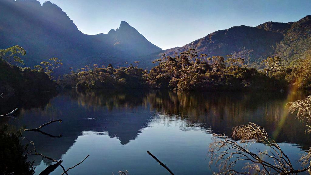<s1>  BOLD PLAN: Tasmanian Walking Company is looking to build an eco-tourism lodge at Lake Rodway, under the foothills of Mt Emmett in  </s1>the Cradle Mountain-Lake St Clair National Park.  <source></source>Picture: BRETT GODFREY