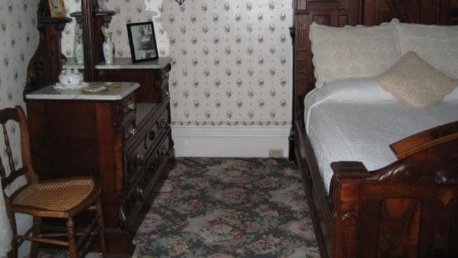 You can stay in the room where Abby was murdered. Picture: Beverly Ford.