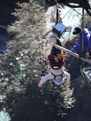 Bungy ... Queenstown is considered the birthplace of the extreme activity.
