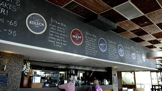 4 Pines Brewing Company in Manly. Picture: AP.