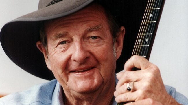Slim Dusty.