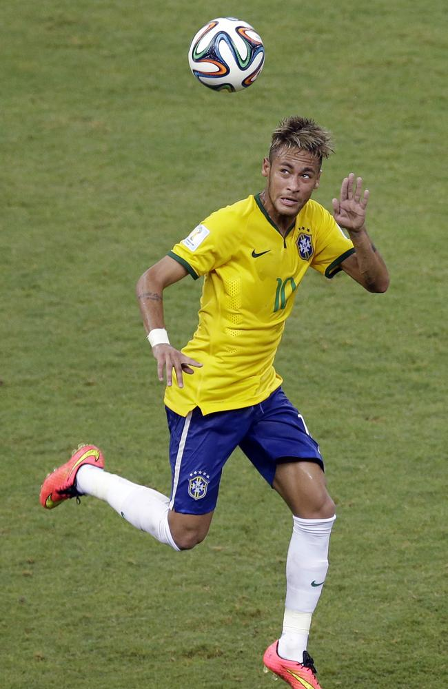 Neymar is a key man for Brazil.