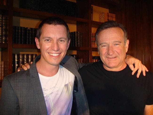 Rove McManus and Robin Williams ... McManus interviewed the comic legend four months after he survived heart surgery.
