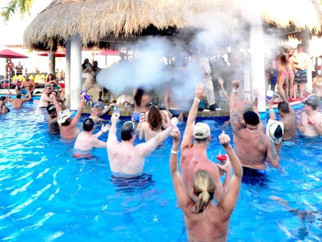 Patrons are there to party. Picture: Temptation Island