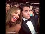 "Behind The Scenes Emmy Awards 2014... Actress Sofia Vergara posts, ""Partyyyyyy"" Picture: Instagram"