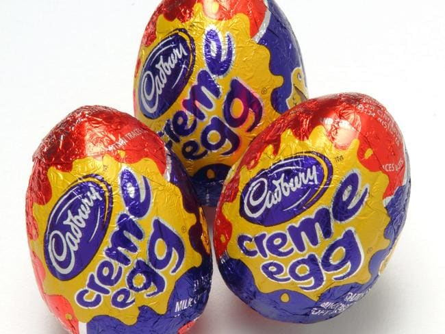 The traditional Cadbury Creme Eggs.