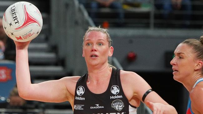 Caitlin Thwaites of the Magpies has opened up on her experiences with depression