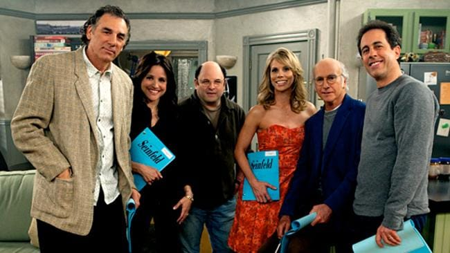 The crew reunited on Curb Your Enthusiasm.