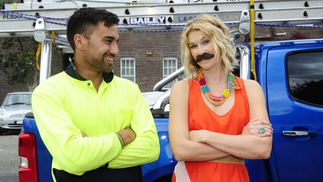 Charlotte Connell says if she can suffer the ridicule of wearing a fake moustache for a month then men can at least go and get a health check.