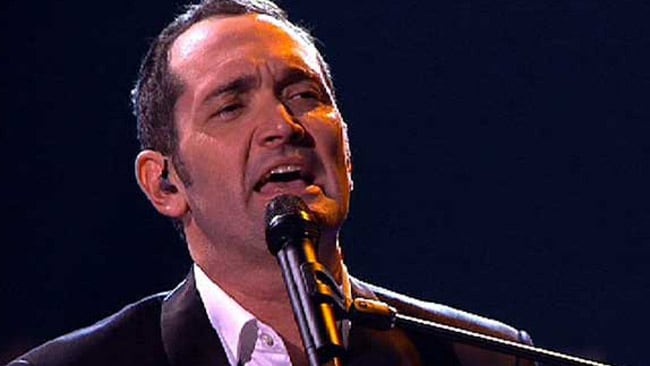 Darren Percival performs on the finale of The Voice: Picture: Channel Nine