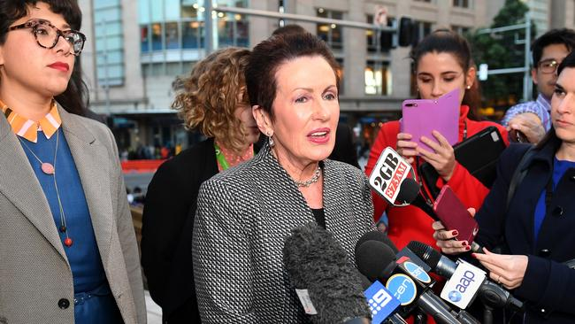 Sydney Lord Mayor Clover Moore had a deal with the tent city residents. That's no fallen apart. Picture: AAP Image/Brendan Esposito.