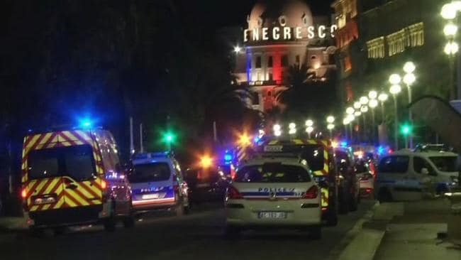 French police arrest five in connection with truck attack