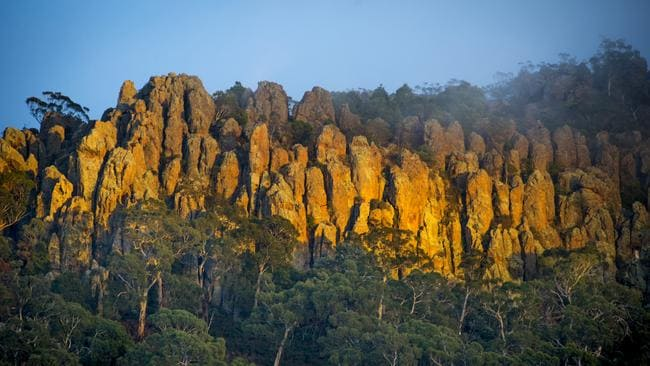 Hanging Rock. Picture: Daylesford Macedon Ranges Tourism Patricia Maunder