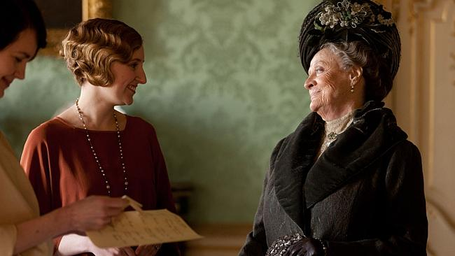 Nothing makes the ladies of Downton happier than a promptly returned RSVP.
