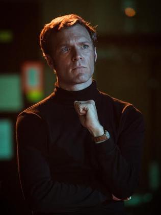 Tom O'Sullivan, with skivvy as Michael Shrimpton.