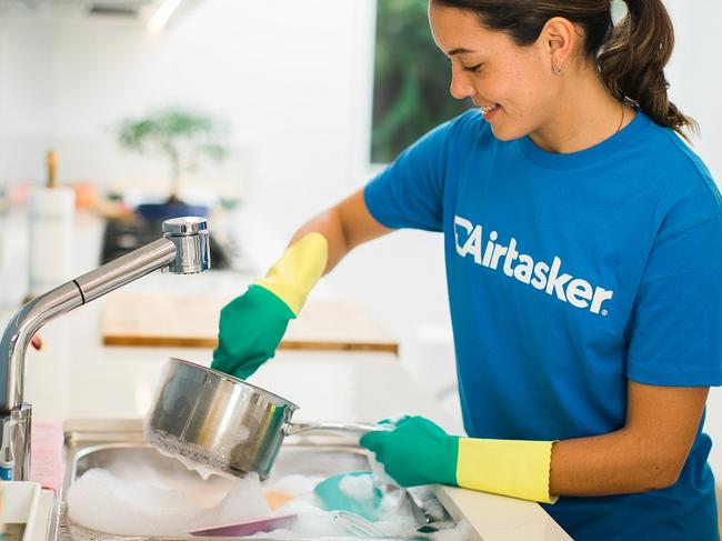 Aussies outsourcing household chores
