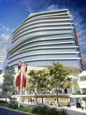 An artist's impression of the future Southpoint development. Supplied.