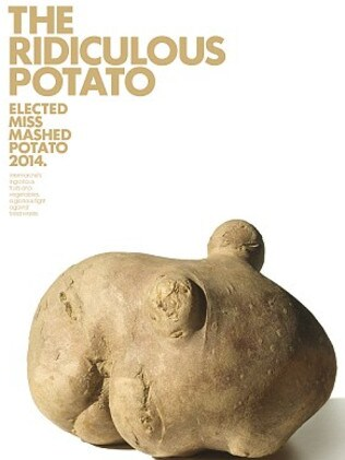 French supermarket Intermarché poked fun at an ugly potato. Picture: Intermarche
