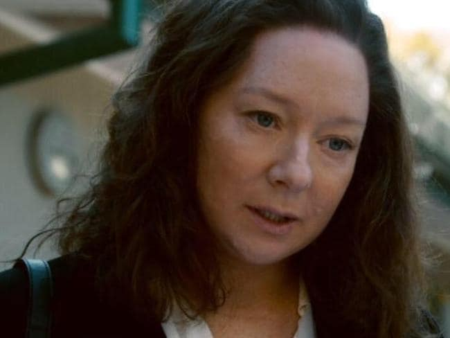 Miniseries ... present-day Gina Rinehart is played by Mandy McElhinney in House of Hancock. Picture: Supplied