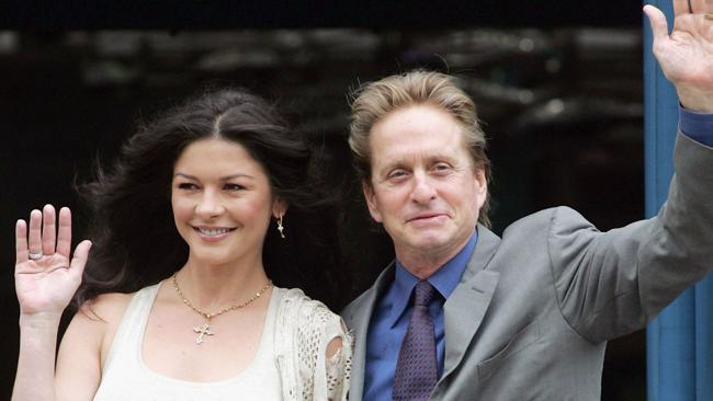 Zeta Jones and Douglas in 2006. Photo by Matt Cardy/Getty Images