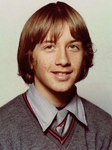 John in his early teenage years. Picture: Supplied