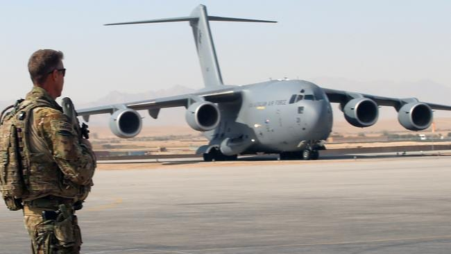 Help on way ... an Australian C-17 jet transport plane is expected to land in the Kurdish city of Erbil within 24 hours. Picture: Gary Ramage