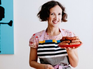 Chrissy Flanagan is the sausage queen. Photo: Supplied