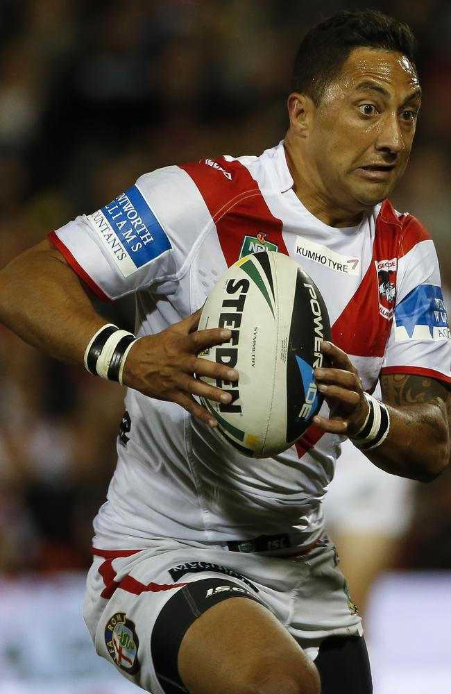 Benji Marshall had an unhappy game.