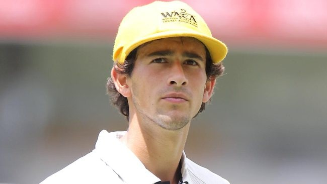 Ashton Agar is a chance of playing for Australia in the first Test in India. Picture: Adam Armstrong