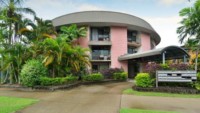 This Cairns unit, purchased for $35,000, is one of Nathan Birch's 200 properties.