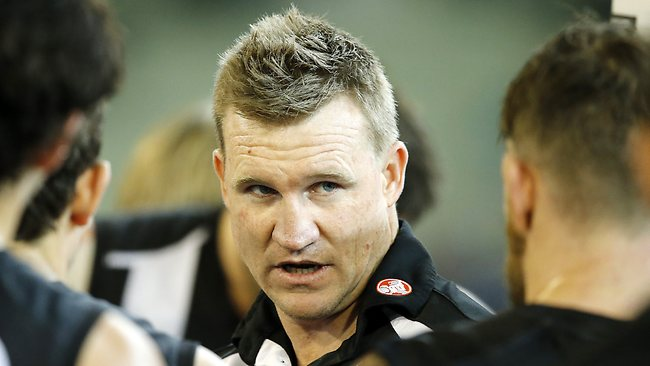 Second Elimination Final Collingwood v Port Adelaide, Nathan Buckley, Picture: Ludbey Wayne