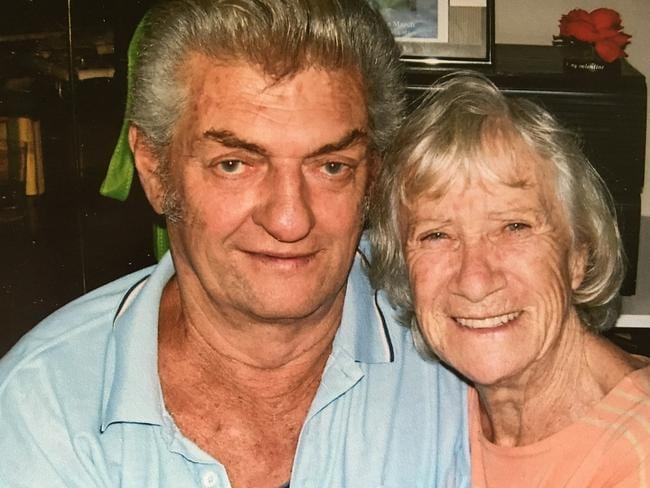 May Ritchie, 81, with her boyfriend Bob Lyford, 69.