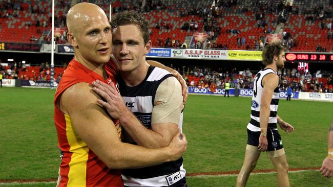 Gary Ablett and Joel Selwood both feature in the All Australian squad.