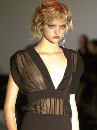 Gemma Ward during Australian Fashion Week in 2003.