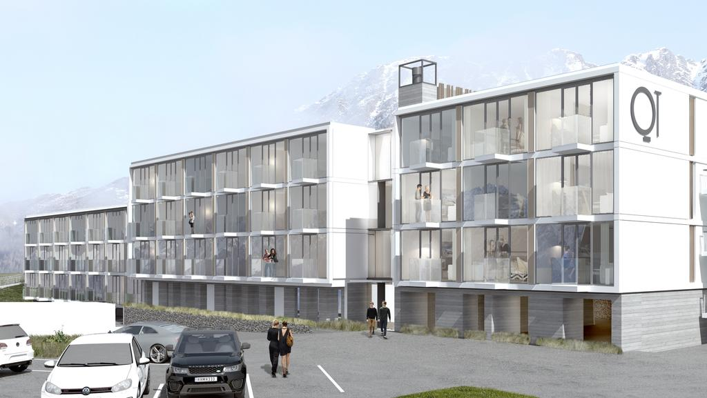 Best hotels qt queenstown new zealand to open december for Design hotel queenstown